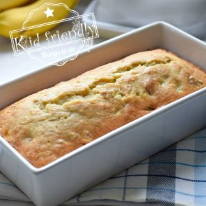 {Old fashioned} Banana Nut Bread Recipe | Kid Friendly Things To Do