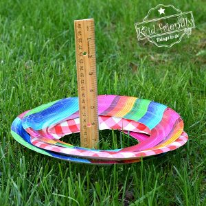 Ring toss game for outdoor