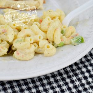 Classic Macaroni Salad {Easy}  | Kid Friendly Things To Do