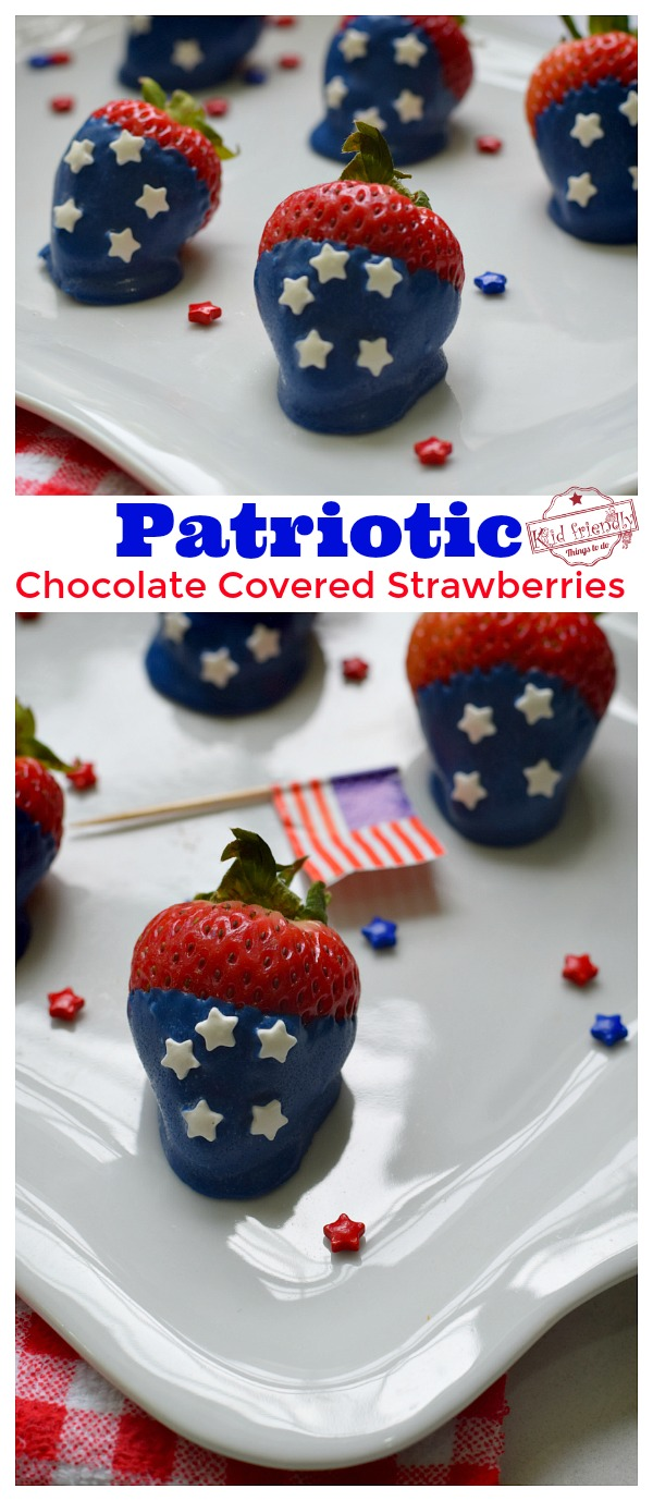 Food idea for Fourth of July, Memorial Day and Labor Day