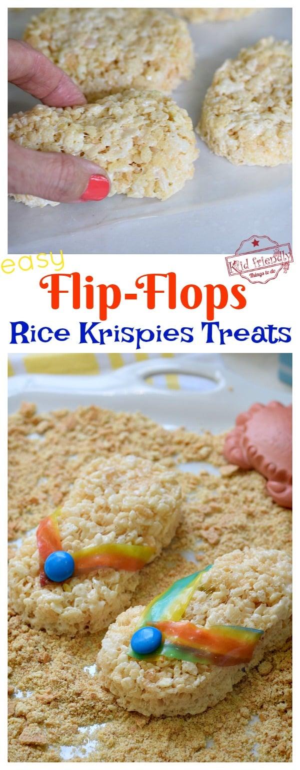flip-flop summer treat idea