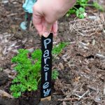 DIY Garden Markers for kids