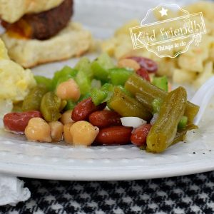 Easy Three Bean Salad {The Best!} | Kid Friendly Things To Do