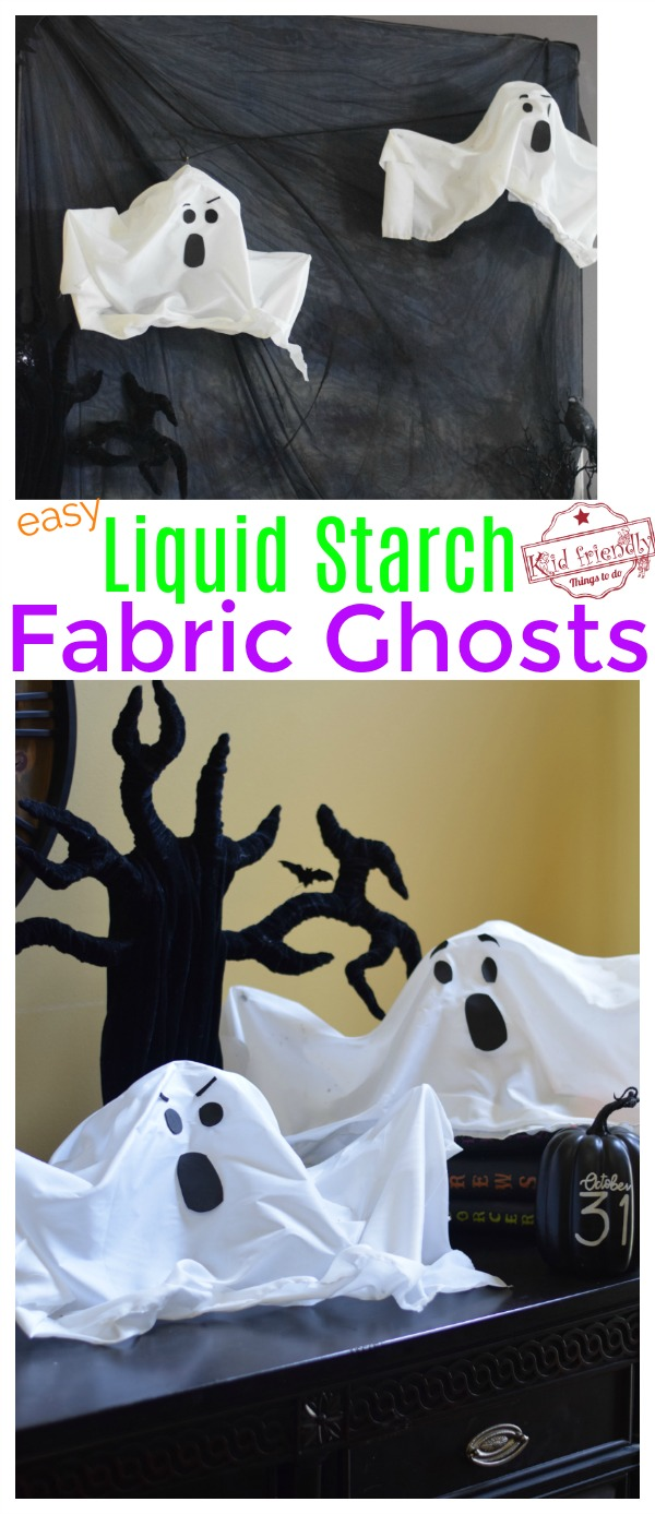 how to make Halloween ghosts