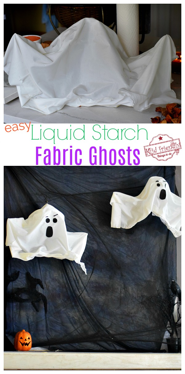 how to make a liquid starch ghost
