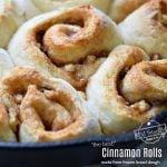 Make ahead cinnamon rolls