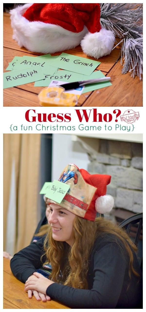 Family Christmas Game