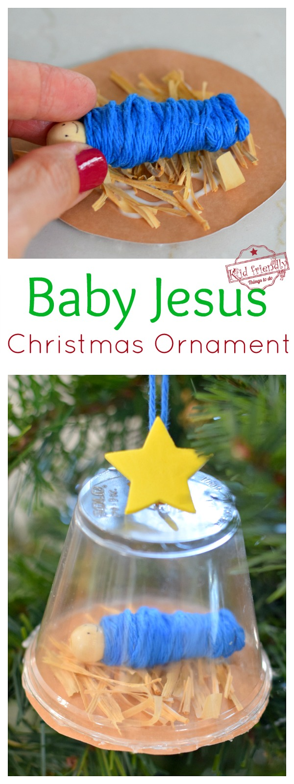 Baby Jesus Nativity Ornament