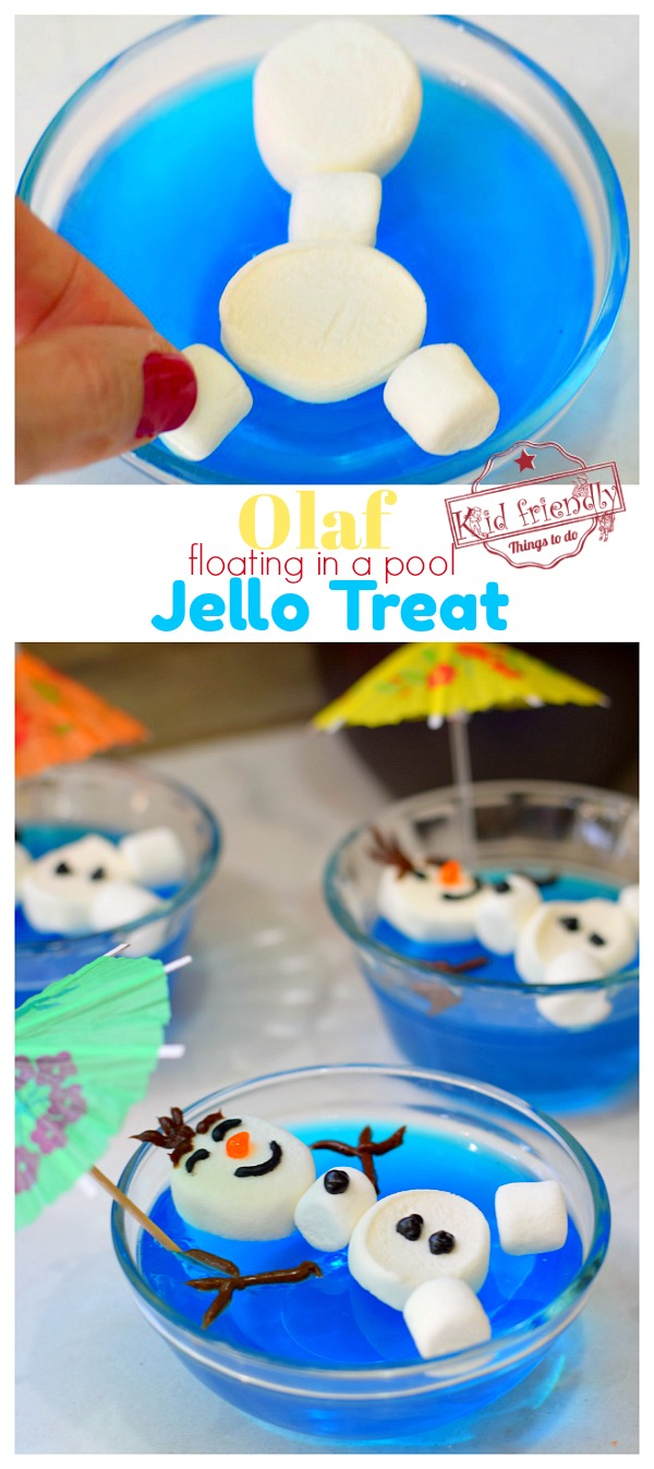 Olaf Food Treat Idea