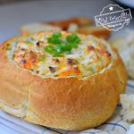 Hot Crab Dip Recipe in a Bread Bowl