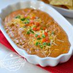 3 Ingredient Chili Cheese Dip Recipe