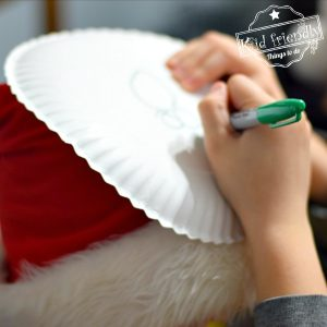 Paper Plate Pictionary fun holiday game idea