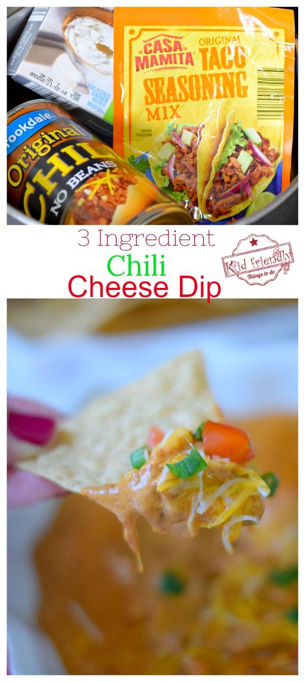 Easy chili cheese dip