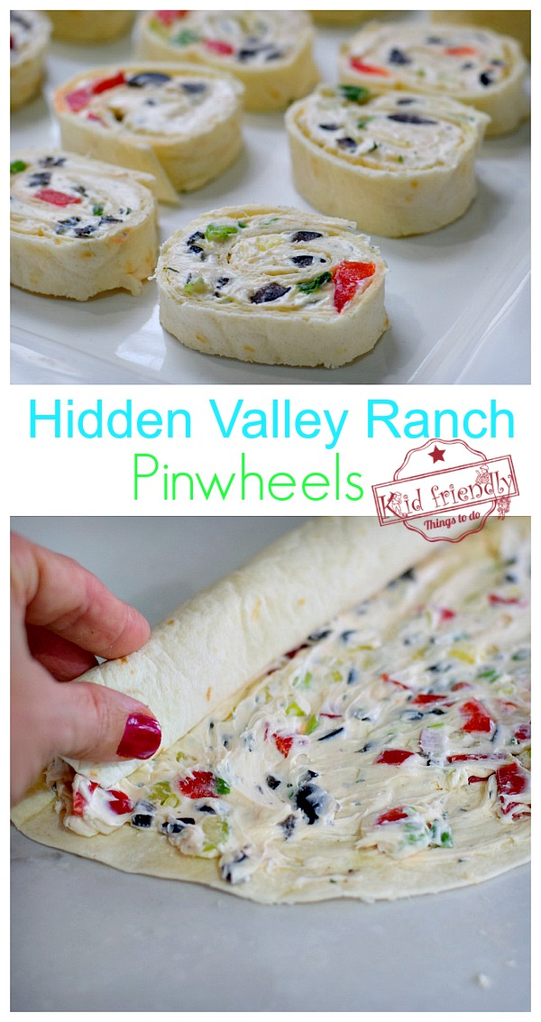 Ranch Pinwheels Appetizer