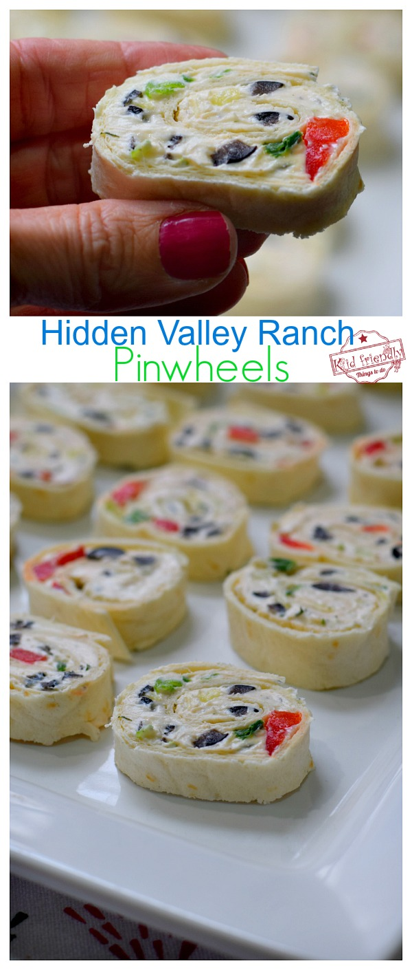 Make Ahead Pinwheel Appetizer recipe