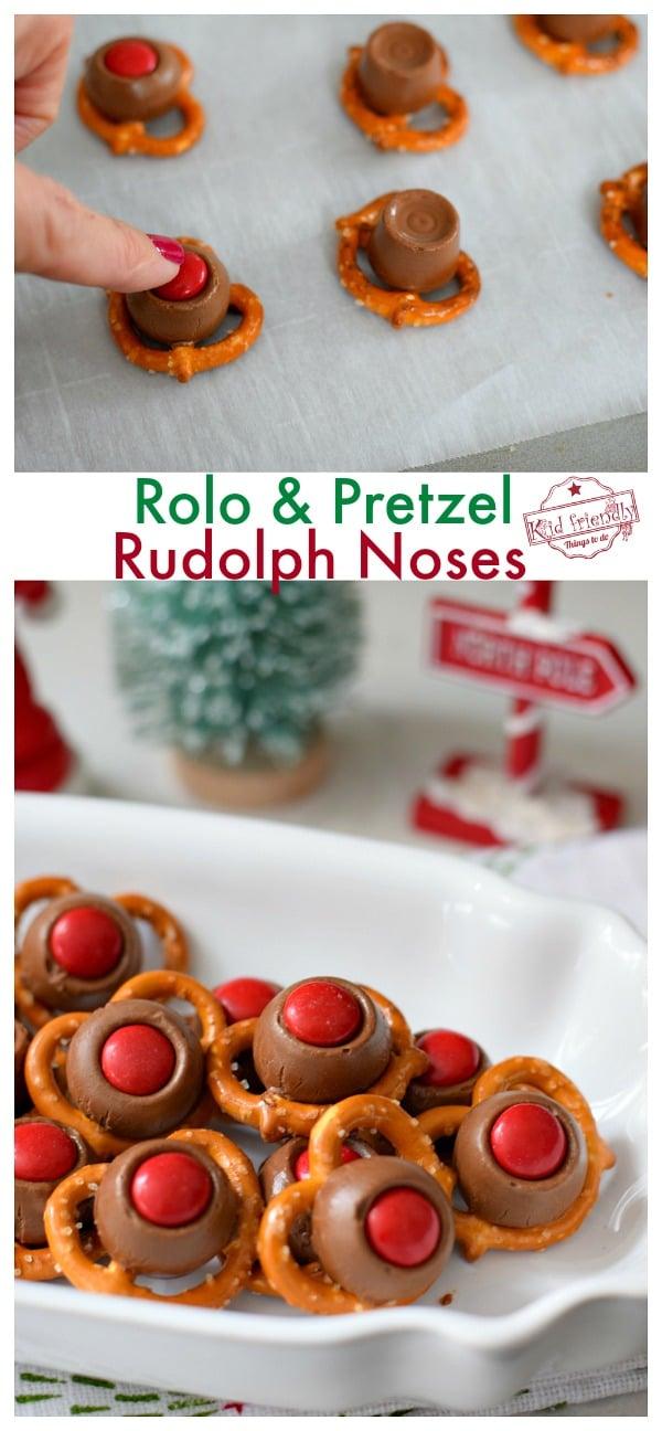 Rudolph Pretzel Noses
