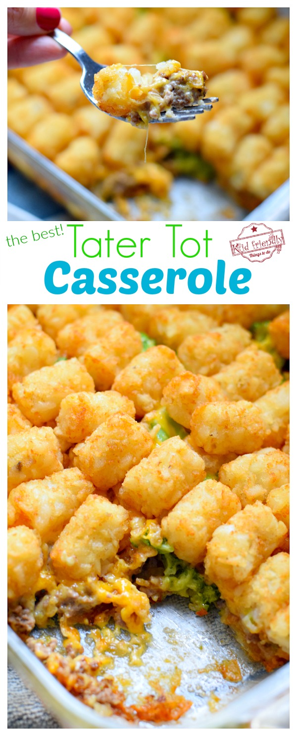 The Best Tater Tot Casserole Recipe