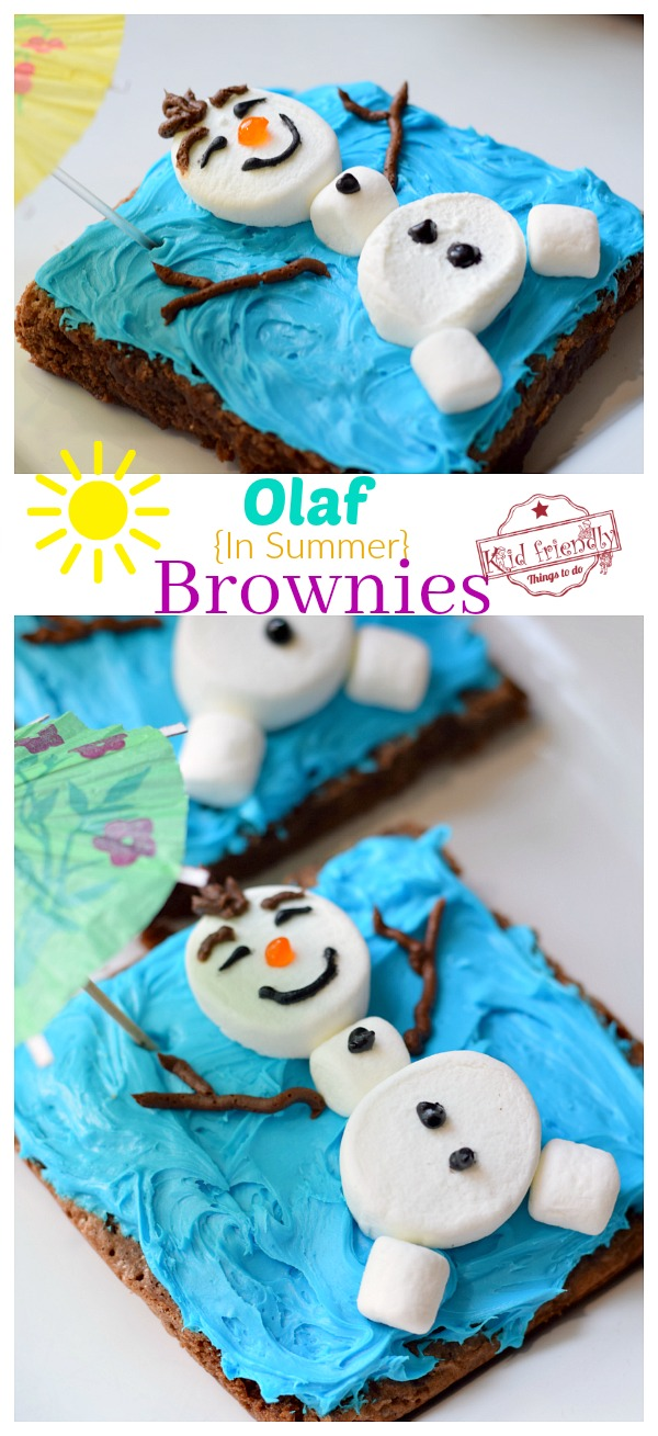 Olaf from Frozen Party Treat