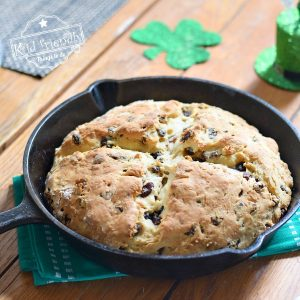 Irish Soda Bread with Raisins {Delicious and Moist} | Kid Friendly Things To Do