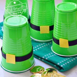 Gold Coin Shake {St. Patrick's Day Game!} | Kid Friendly Things To Do