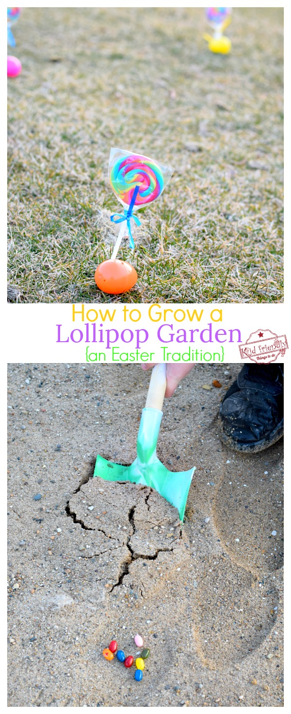 growing a lollipop garden