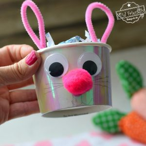 Bunny Treat Cups {Easter Craft and Party Idea} | Kid Friendly Things To Do