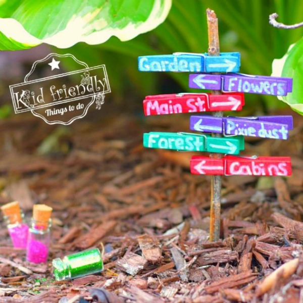 Over 15 Fairy Garden Ideas for Kids