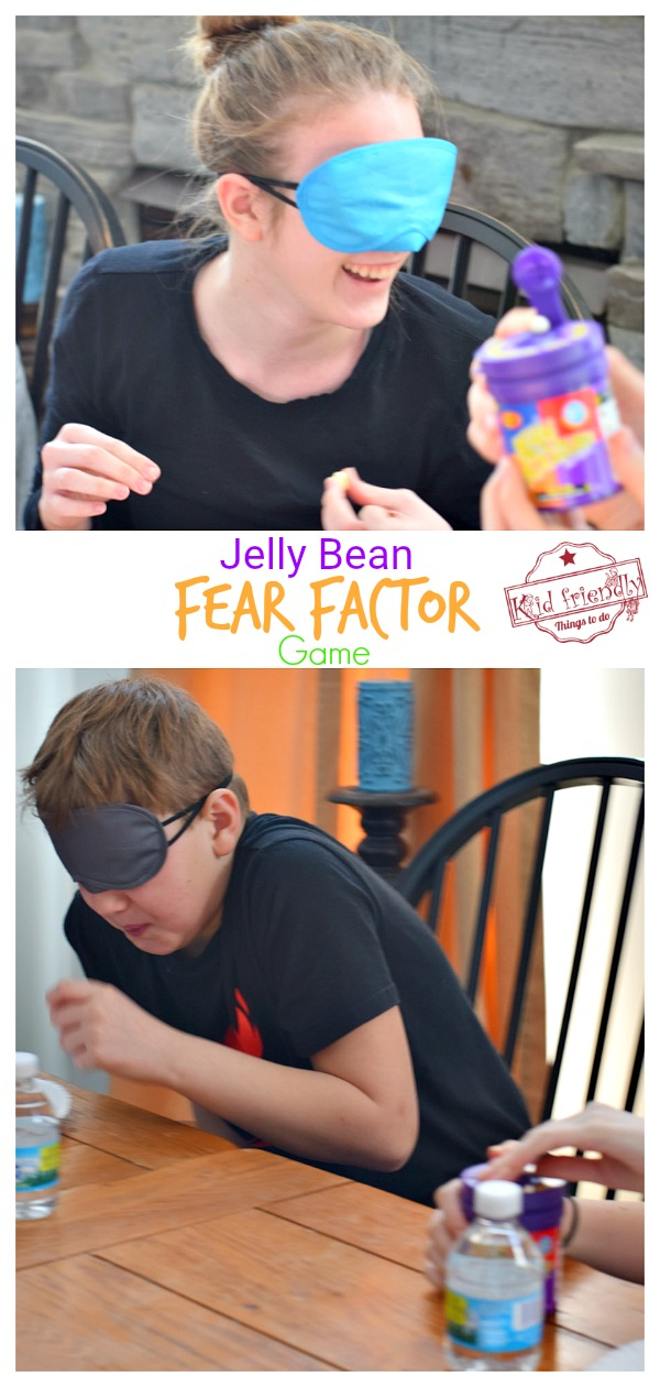 Fear Factor Game for family