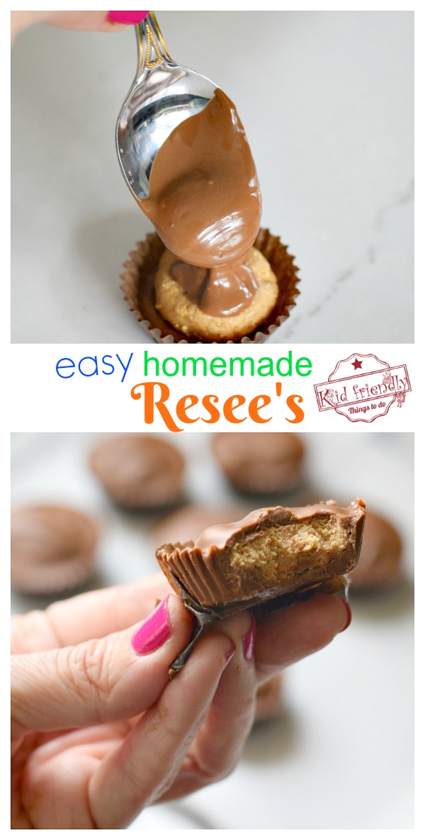 Resee's peanut butter cup recipe