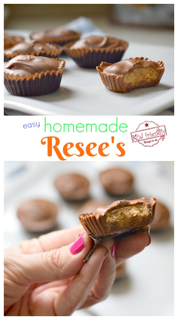 homemade Resee's Peanut Butter Cups