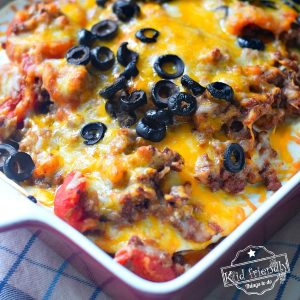Mexican Lasagna Recipe {Easy} | Kid Friendly Things To Do