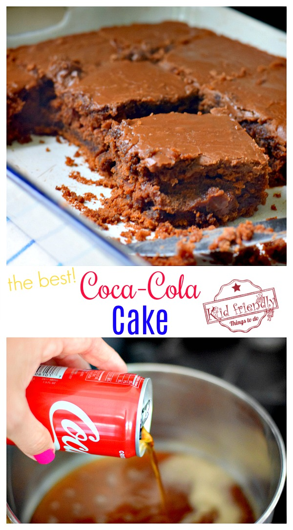 Coca Cola Chocolate Cake Recipe