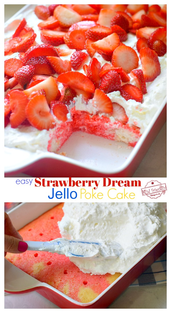 easy jello poke cake recipe
