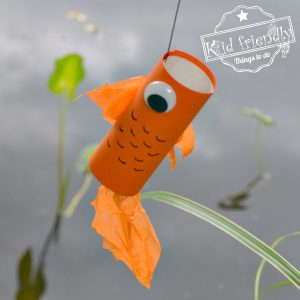 Toilet Paper Roll Fish Craft {Easy} | Kid Friendly Things To Do