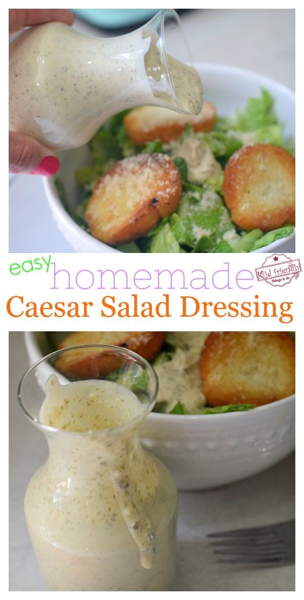 no egg caesar salad dressing