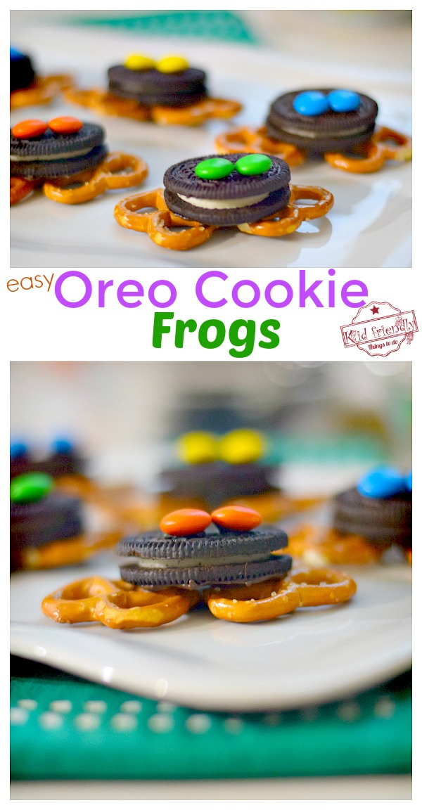 Oreo Cookie Frogs