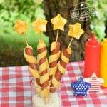 sparkler hot dog patriotic food