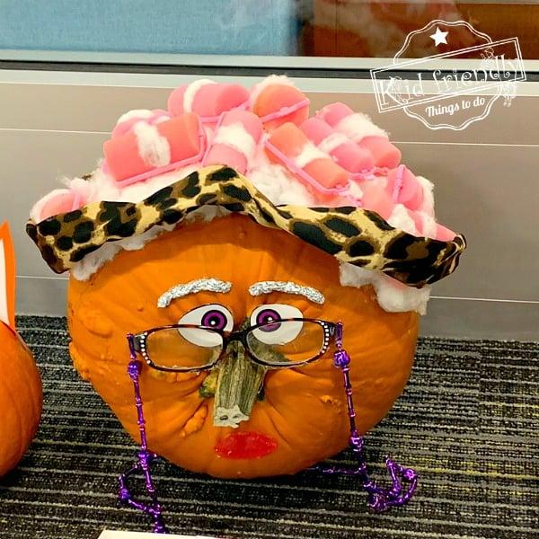 little old lady pumpkin