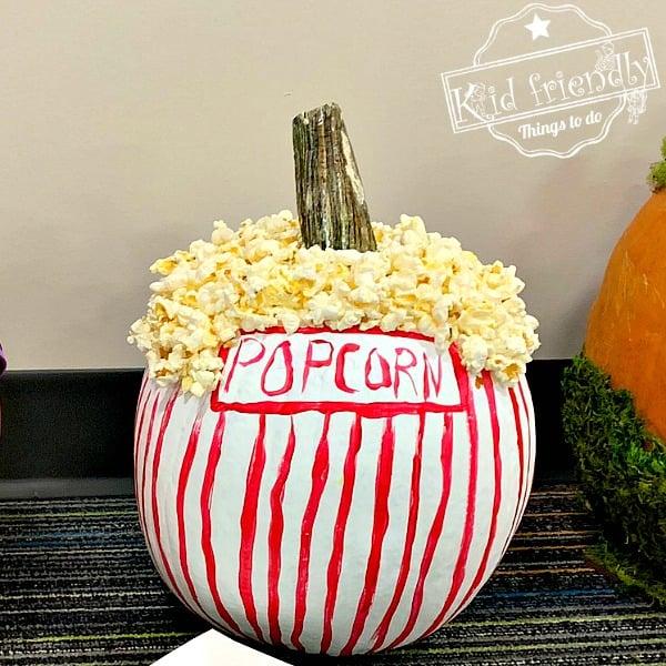 popcorn bowl pumpkin
