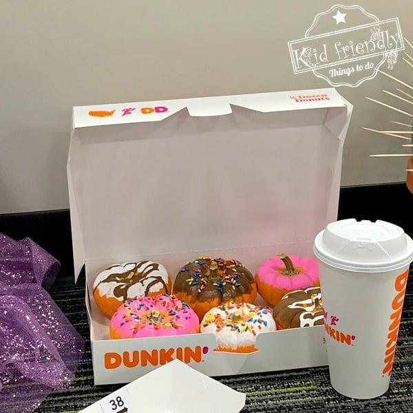 Dunkin Donut Pumpkins