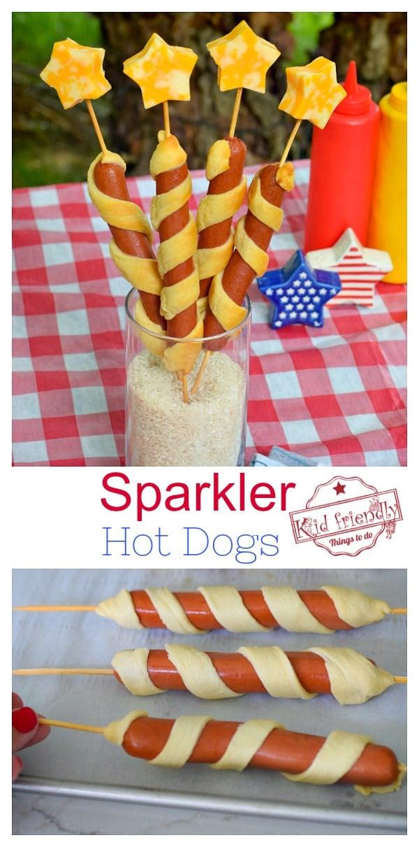 patriotic hot dogs