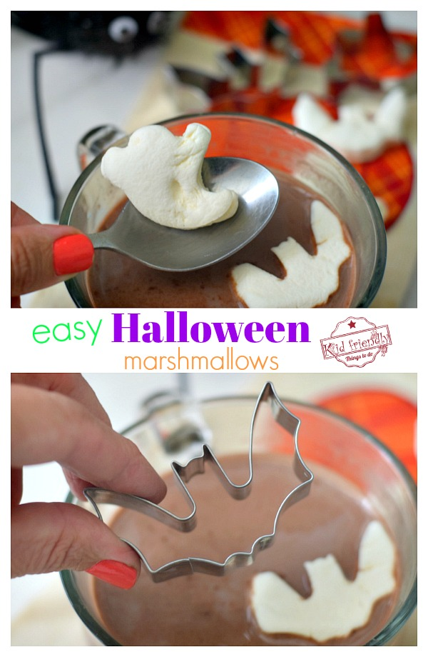 cute Halloween Marshmallows