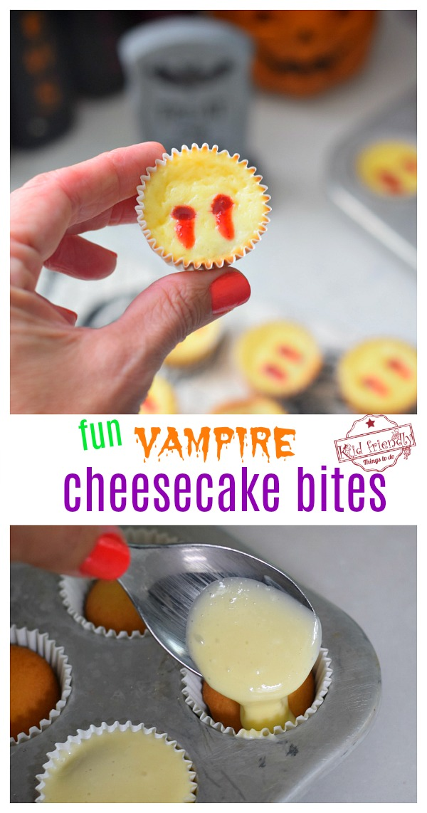 Easy Halloween Vampire Treats