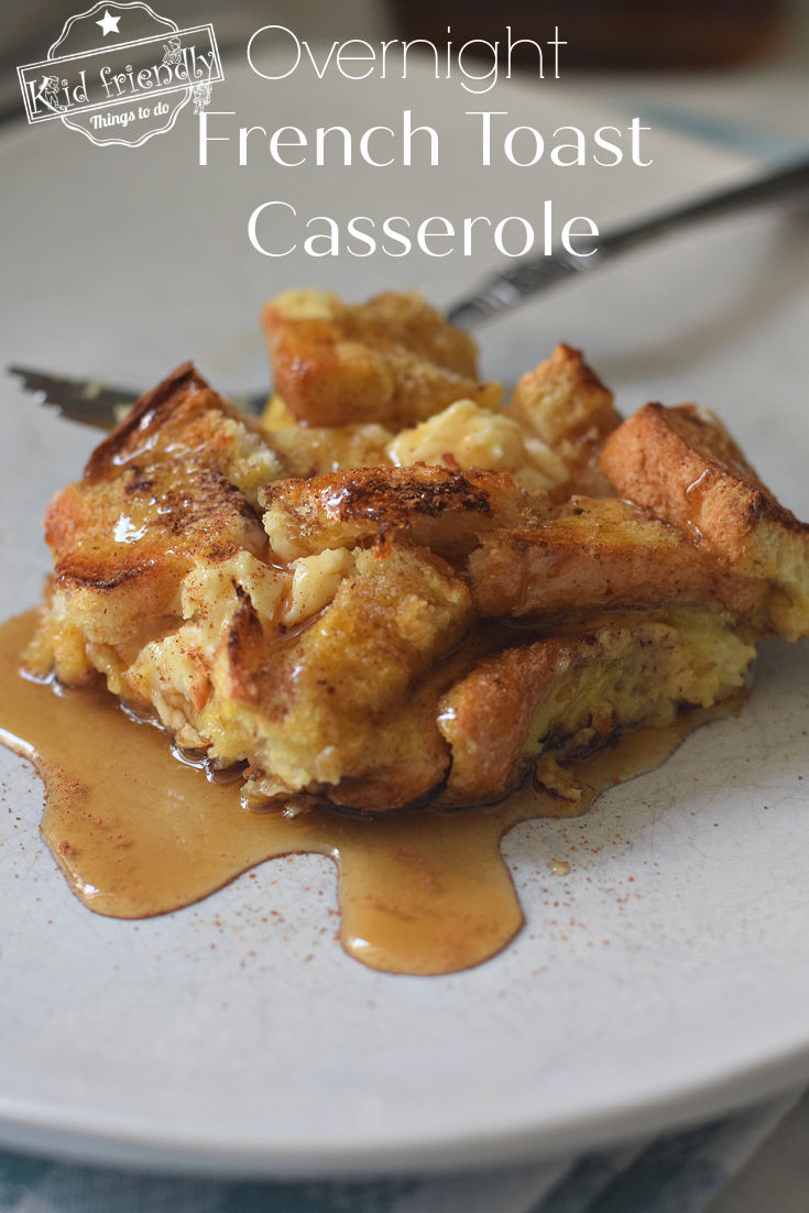 french toast bake with cream cheese