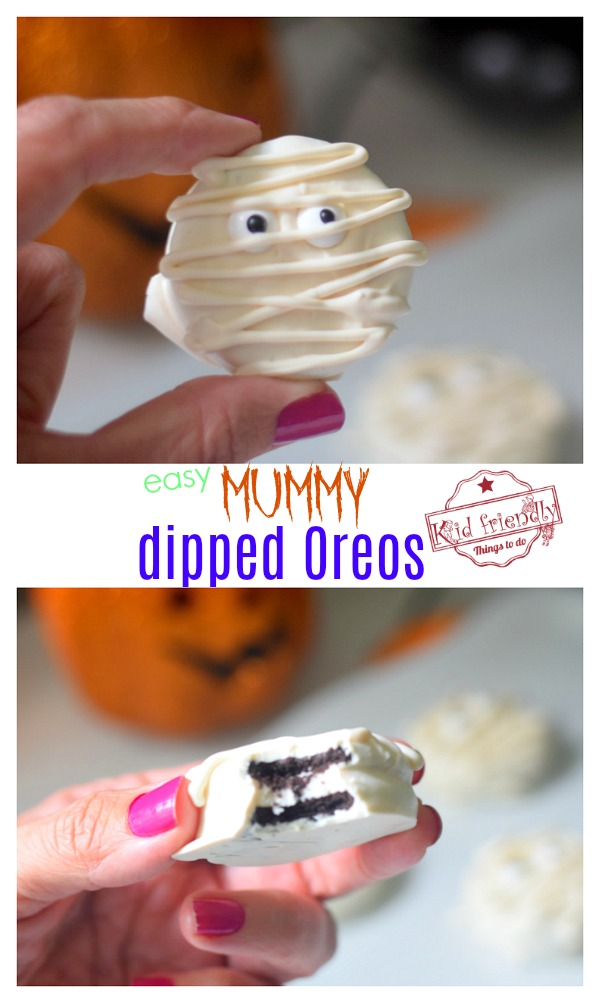 Halloween Oreo Treats