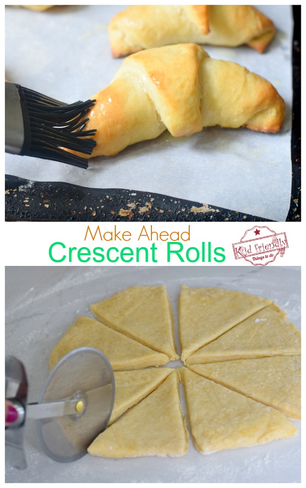 how to make crescent rolls