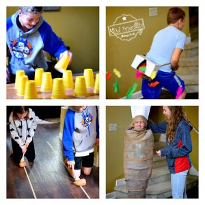 Awesome Minute to Win It Thanksgiving Games for kids and teens