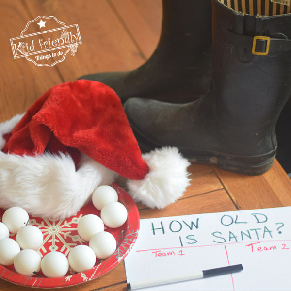 How Old is Santa? Christmas Game Idea | Kid Friendly Things To Do