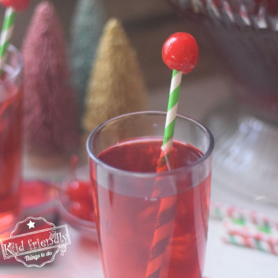 Rudolph Punch {A Christmas Drink for Kids} | Kid Friendly Things To Do