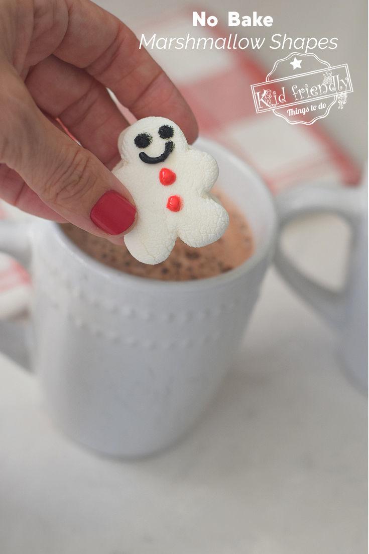 making marshmallow shapes